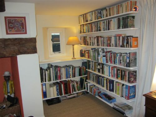 corner bookcase shelves