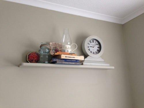 single shelf slid