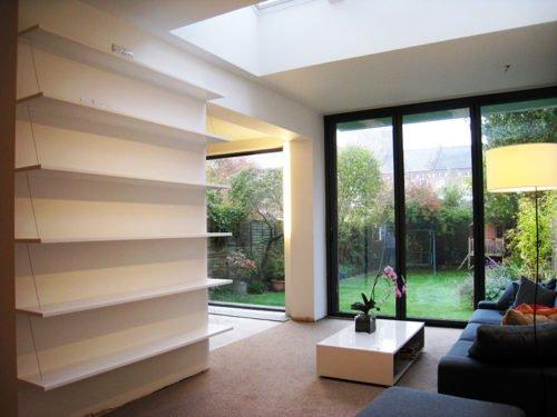 Bespoke width x 250mm Bookcase (top shelf 200mm)