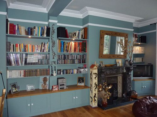 alcove shelf